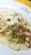 ノルウェーサーモンと季節野菜のクリームソース タリアテッレ