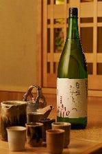 日本酒とワインを中心に取り揃え