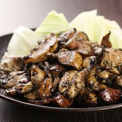 鳥取県産 香美鶏の炭焼き盛り