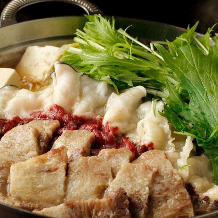 土佐の伝統鍋 「鯨のハリハリ鍋」
