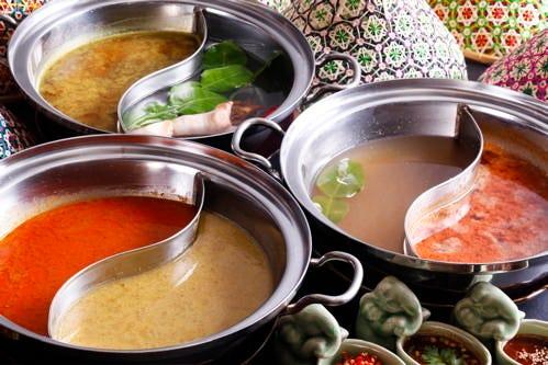 手長海老のタイスキは、美味と評判です。