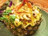 海老とパイナップル焼飯