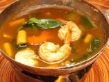 季節野菜入り森のハーブカレースープ