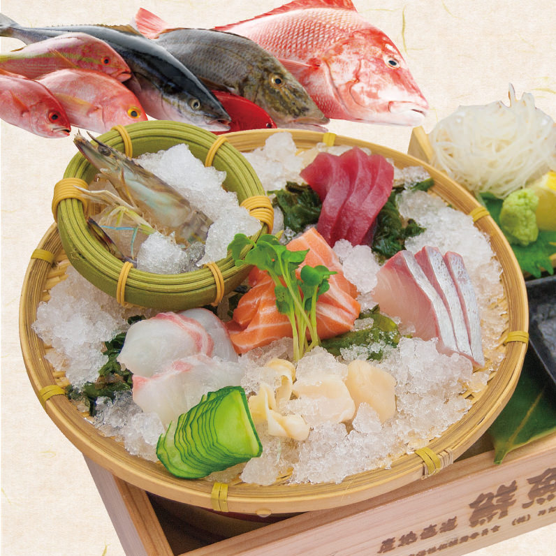 ◆全国津々浦々から仕入れる鮮魚
