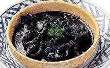 プルーピートス(イカの墨煮)