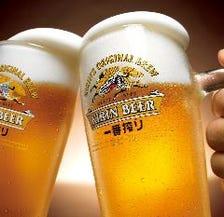 【平日限定HAPPY HOUR】15時~17時、19時半~LOまでアルコールが各300円(税抜)