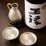 無濾過生酒の「王禄」をはじめ、「田酒」や「十四代」などの地酒