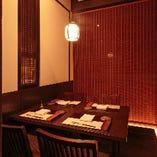 【2〜4名様】個室 旅籠の間 ゆったり落ち着ける接待に最適な空間