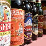 インドで人気のビールやワイン、ウイスキーなどを取り揃え!