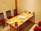 テーブル椅子席