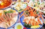 かにすき鍋会席「寿 ことぶき」    1人前 7500円→7300円