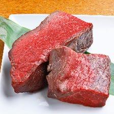 全部で17種!多彩な熟成肉が自慢。