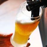 生ビールは「ザ・プレミアムモルツ 香るエール」をご用意