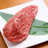 神戸ビーフの熟成肉もご用意しております