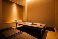 半個室。接待や会食に最適!