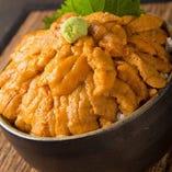 生雲丹の贅沢飯(ご飯約1合)