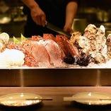 三重県産の白ハマグリ、太平洋沖の鮪などこだわりの食材を