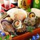 自慢の鮮度!!帆立、蛤、栄螺、大浅利、牡蠣を浜焼きで