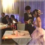 結婚式二次会でのご利用もご予約承っております!