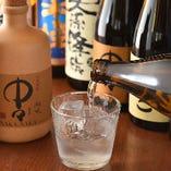 【焼酎】 宮崎県の蔵元にこだわり取り揃えた本格焼酎は常時25種