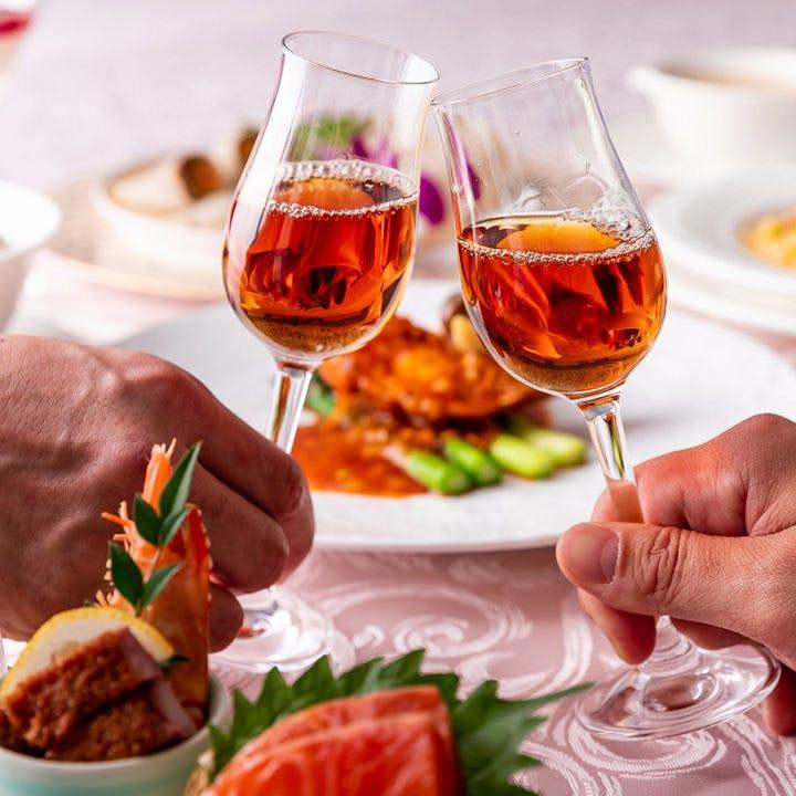 『おもてなしの心』コース料理はお客様のペースに合わせてご提供
