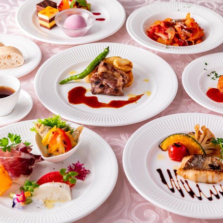 南イタリア料理をコロニアル風邸宅で