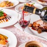 南イタリア料理とワインをお楽しみください