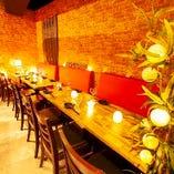 高崎最大級の個室空間◆宴会や女子会様々なシーンでご利用下さい