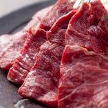 牛肉も厳選しています!