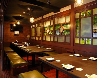 個室空間 湯葉豆富料理 竹取酒物語 京都中央口駅前店 店内の画像