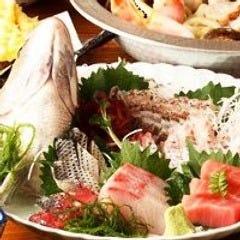 豪快鮮魚盛り