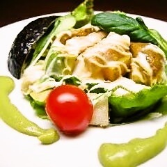 揚げ野菜のアボカドサラダ