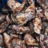 日生の殻付き牡蠣炭焼き(季節物)12月~4月中旬