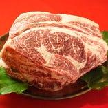 厳選された九州産の肉牛を使用◎