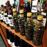 ウイスキーの品揃も豊富