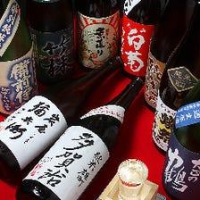 日本酒バーにも負けない品揃え