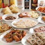 貸切プランは料理のグレードに合わせて、それぞれ四種類のコースから選べます