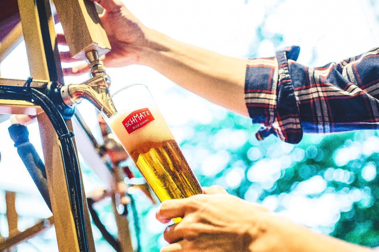 【単品スタンダード飲み放題】ドイツビール3種やワイン、カクテルも☆