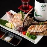海鮮料理と相性抜群の日本酒