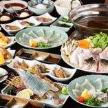 ■宴会コース■ ふぐ料理を思う存分お楽しみください