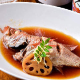 ■のどぐろの煮付け■ 特製ダシと醤油でしっかり煮付けました
