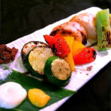 炭火焼き野菜 4種