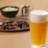 【お 酒】 キンキンに冷えたビールやハイボールをご用意!