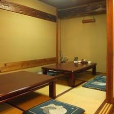 ◆完全個室のお座敷席~4名様