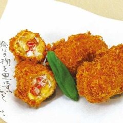 【手作り】ずわい蟹と帆立の手作りクリームコロッケ