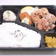 鶏の唐揚げ&白身フライ弁当
