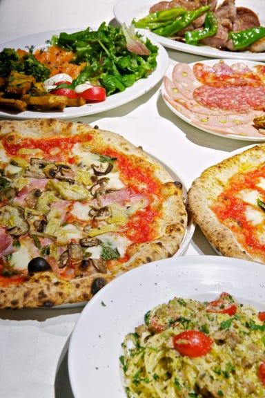 PIZZERIA&BAR girasole RICCO  コースの画像
