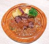 テイクアウト 国産牛ホホ肉の赤ワイン煮込み