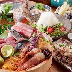 肉と魚 草津 極楽酒場
