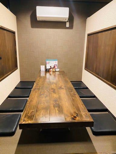 中華×焼き鳥 個室Diningきりん 店内の画像